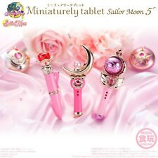 BANDAI Sailor Moon Miniaturely Tablet Vol.5 Complete Set of 3 Disguise Pen Rod