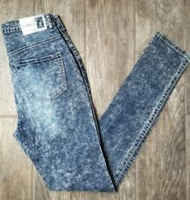 Crave Fame Almost Famous Womens Jeans Size 6 Acid Wash High waist