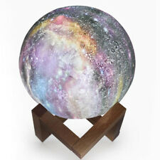 3D Print Galaxy Star Light LED Moon Lamp 7 Color Changing Rechargable Xmas Gifts