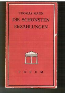 """Thomas Mann """"Die schönsten Erzählungen""""  von 1938"""