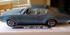 1969 Oldsmobile 442 Nassau Blue 1:18 Ertl American Muscle 32480