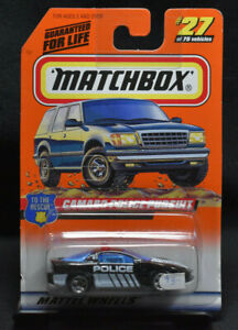 Hot Wheels Matchbox To The Rescue Camaro Police Pursuit #27 of 75 (300) Backward