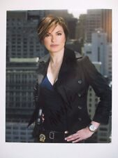 MARISKA HARGITAY  SIGNED 11x14 PHOTO DC/COA LAW & ORDER SVU (BEAUTIFUL)