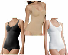 women ladies Seamless Control Vest Tummy Shaper Shapewear Slimming Vest Top
