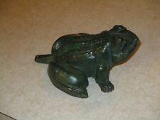 Antique Cast Iron Caldwell Font Frog