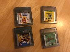 Disney GBC Games (Monsters Inc Pooh Tarzan) & Harry Potter Chamber Of Secrets!