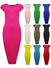 Girls Midi Dress Kids Bodycon Party Dresses New Age 7 8 9 10 11 12 13 Years