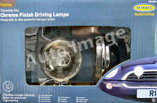 "Ring BRL0384 12v Round Chrome Driving Halogen Spot Lights Lamps 4.5""  E Approved"