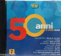 CD=50 anni di canzoni italiane=volume 7=Battiato-Dalla-Mango-MIa Martini-Ron