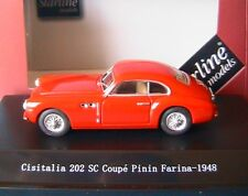 CISITALIA 202 SC COUPE PININ FARINA 1948 RED STARLINE 540032 1/43 ROSSO  ROUGE