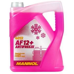 Kühlerfrostschutz Rot G12+ 5L Mannol Antifreeze AF12+ -40°C Kühlmittel Audi VW