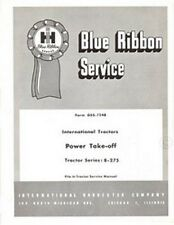 International harvester Tractor B-275 B275 Power Take-Off PTO Service Manual