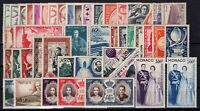 W129722/ MONACO / AIRMAIL / LOT 1941 – 1959 MINT MNH - CV 380 $