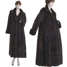 LKNW! L! $20K! Rare Tall Girl Paris Couture Oscar Dela Renta Mink Tiered Coat
