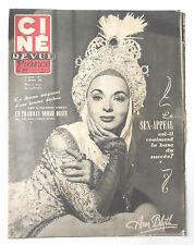 CINE-REVUE 15 février 1952 ANN BLYTH MARLON BRANDON VIVIEN LEIGH