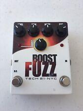 Tech 21 NYC Boost Fuzz Booster Germanium Fuzztone Guitar Effect Pedal