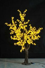 5ft height yellow Led Simulation Cherry Blossom Tree Wedding Christmas Light New