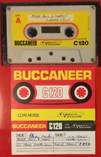 BUCCANEER C120 VINTAGE USED CASSETTE TAPE MADE IN PORTUGAL