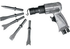 heavy duty Air hammer with 5pc chisel kit for chipping riveting cutting piercing