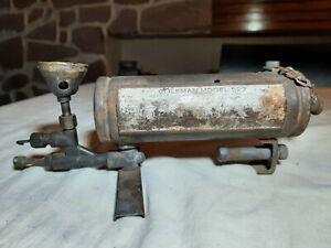 Réchaud médical militaire / vintage medical military stove COLEMAN 527