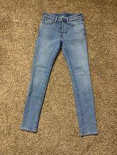 H&m Skinny Stretch Button Fly Jeans Size 31