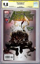 """NEW AVENGERS #11 """"1ST APPEARANCE RONIN"""" (2005) CGC 9.8 SS Signed David Finch!!"""