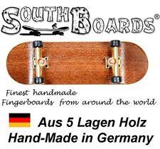 EDEL Board SET PURPLE/SI/SWZ - SOUTHBOARDS® Handmade Wood Fingerboard Deck, Holz