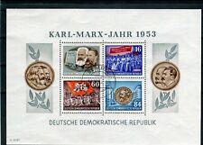 DDR Block 9 A  Marx gestempelt (26214)