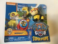 Paw Patrol - Rubble Super Pups Figure New