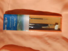 Red Sable Brushes set of 4 jack Richenson