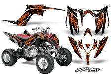 Decal Graphic Kit Quad Sticker Wrap For Yamaha Raptor 700R 2013-2018 NIGHTWOLF O