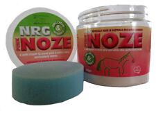 New Nrg Pink Noze Zinc Cream 400gm horse pony dog Waterproof Natural
