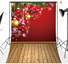 7x5 ft Vinyl Photography Background Backdrop Christmas Photo Studio Props