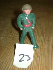 ca 1960'S BARCLAY DIMESTORE LEAD TOY MARCHING SOLDIER #23