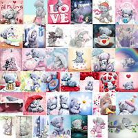 Lovely Bear 5D DIY Diamond Painting Embroidery Cross Stitch Kit Craft Home Decor