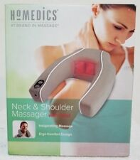 New HoMedics Nmsq-210 Neck and Shoulder Massager W/ Heat Ergo comfort design