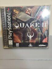 Quake II 2 (Sony PlayStation 1, PS1 1999) Untested