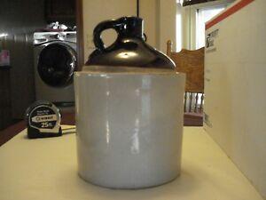 """Antique Ceramic Whiskey Jug 10"""" x 7"""""""