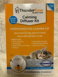 Genuine Thunderease Calming Diffuser Kit for Cats (New damaged box) FREE SHIPPNG