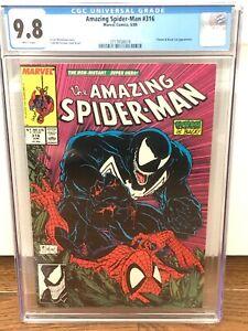 Amazing Spider-Man 316 CGC 9.8 Venom Black Cat MCFARLANE Cover/Art  3717658018