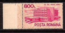 Romania 1991 Hotels Glossy Paper Sc # 3684 Mnh