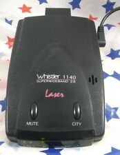 Whistler 1140 Laser Detector With Power Adapter SAVE SOME TICKETS & COURT TIME