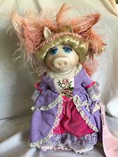 ENESCO Muppets Miss Piggy Marie Antoinette Porcelain Doll LE 2500 No Box