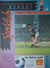 Programm BL 1994/95 SC Freiburg - 1. FC Köln