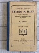 LIVRE SCOLAIRE ANCIEN HISTOIRE DE FRANCE COURS ÉLÉMENTAIRE ANNÉE 1876 N11
