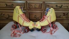 Moxi Roller Skates Beach Bunny Size 9 Strawberry Lemonade *Perfect Condition*