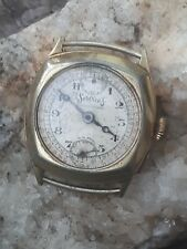 RARE 30'S SERVICES CHRONOGRAPH WATCH MONO PUSHER FOR SPARES OR REPAIR PARTS