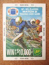 1990 British Petroleum BP unopened wax 2 card pack poss Elway Marino or Winner?