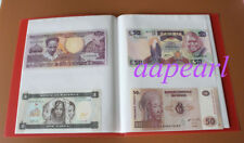 NEW 40 pockets Paper Money Album Holders World Banknotes Collection Book 10Pages