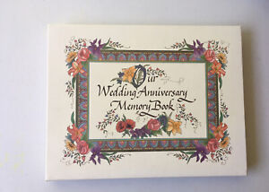 Our Wedding Anniversary Book 50 Years Talus Corp First Edition 1997